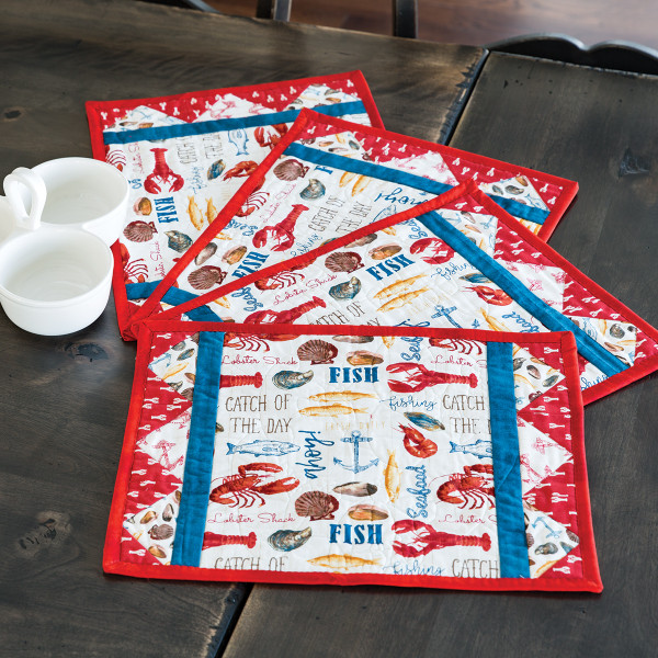Admiral S Feast Place Mats Kit By Heidi Pridemore
