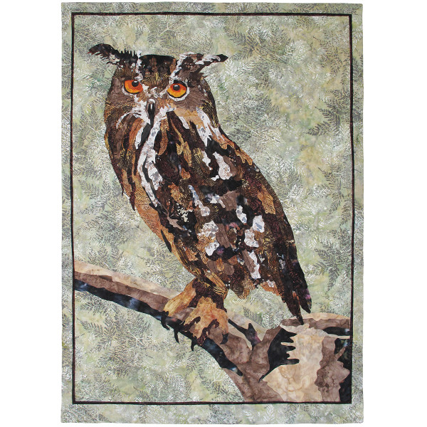 Whooo Pattern By Grace Errea Of Amazing Quilts By Grace
