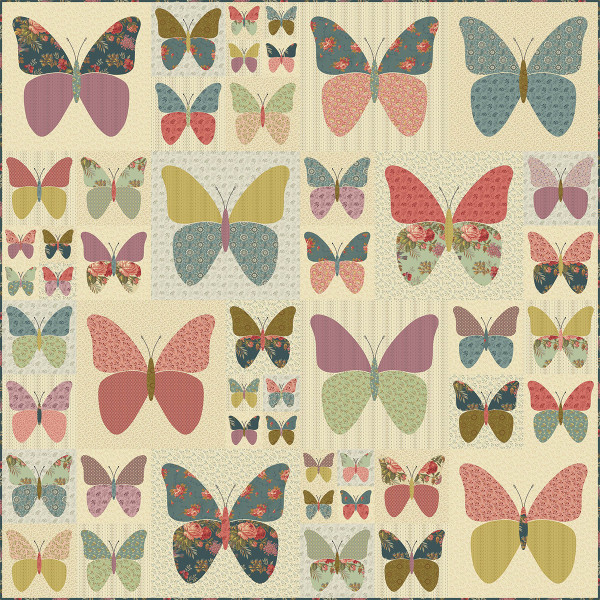 Monarch Pattern By Edyta Sitar Of Laundry Basket Quilts