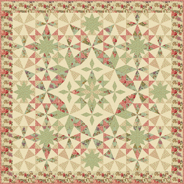 Alaska Block Of The Month By Edyta Sitar Of Laundry Basket