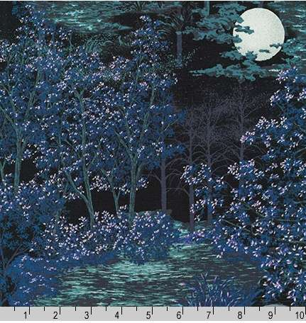 Moonlit Forest In The Moonlight