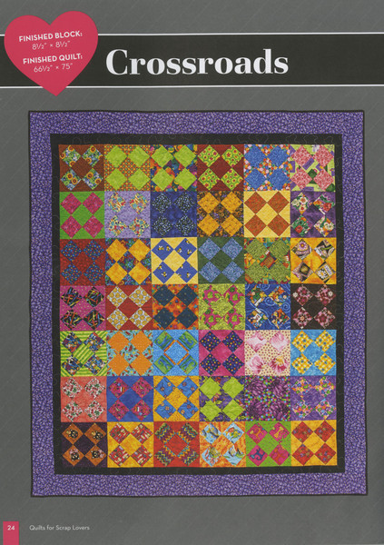 Quilts For Scrap Lovers Softcover Keepsake Quilting