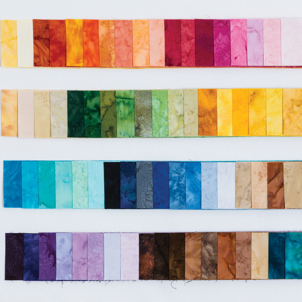 Bali Breezes 2 5 Quot Strips Collection From Hoffman Fabrics