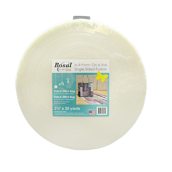 In R Form Single Sided Fusible Stabilizer White 2 1 4in X