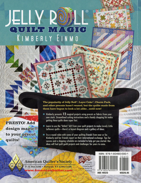 Jelly Roll Magic Softcover Keepsake Quilting
