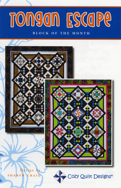 Tongan Escape Bom Complete Set Keepsake Quilting
