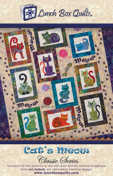 Cats Meow Classic Series Keepsake Quilting