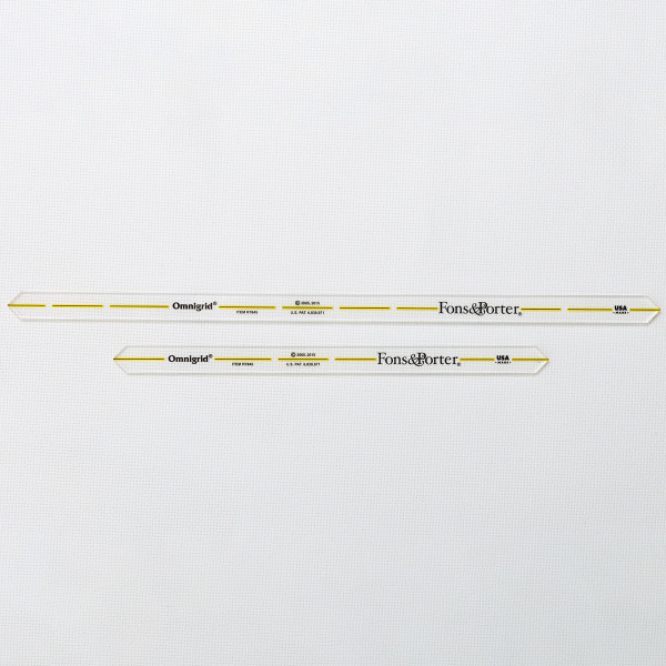 Quarter Inch Seam Marker Ruler 8 Quot Amp 12 Quot From Fons And Porter