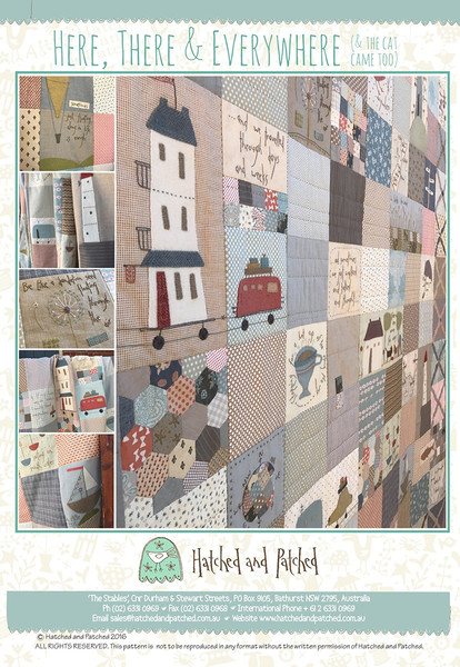 Here There And Everywhere Keepsake Quilting