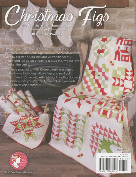 Christmas Figs Block Of The Month Book Keepsake Quilting