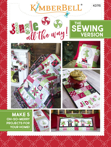 Jingle All The Way Sewing Pattern Book Keepsake Quilting