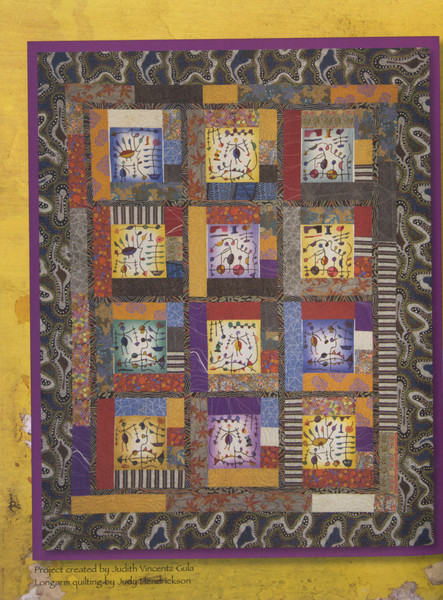Colorful Batik Panel Quilts Keepsake Quilting