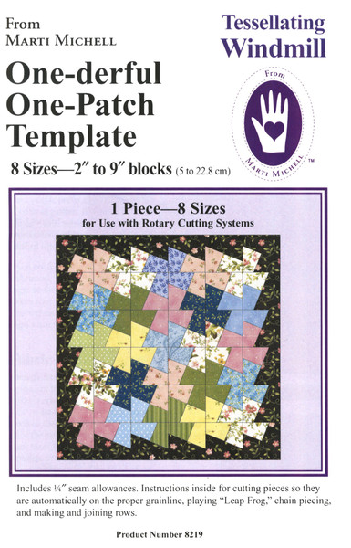 One Derful One Patch Tessellating Windmill Template