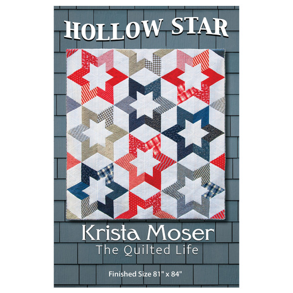 Hollow Star Pattern From Krista Moser Of The Quilted Life