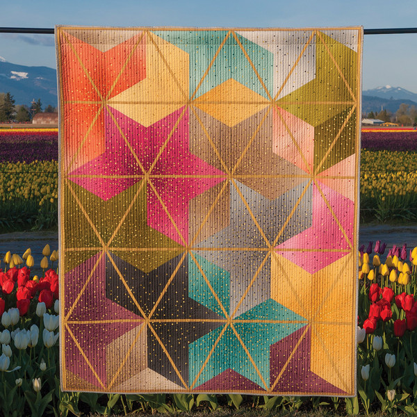 Ombre Blossoms Pattern By Krista Moser