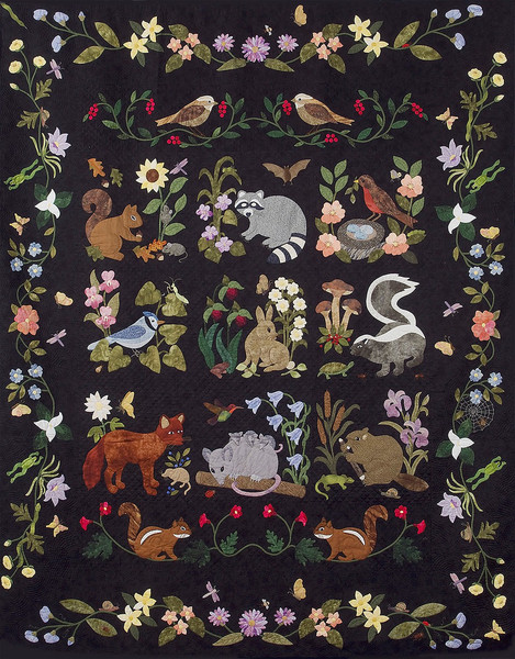 Woodland Creatures Pattern Only Keepsake Quilting