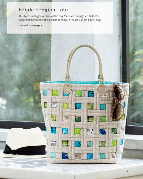Sew Beautiful Quilted Bags Keepsake Quilting